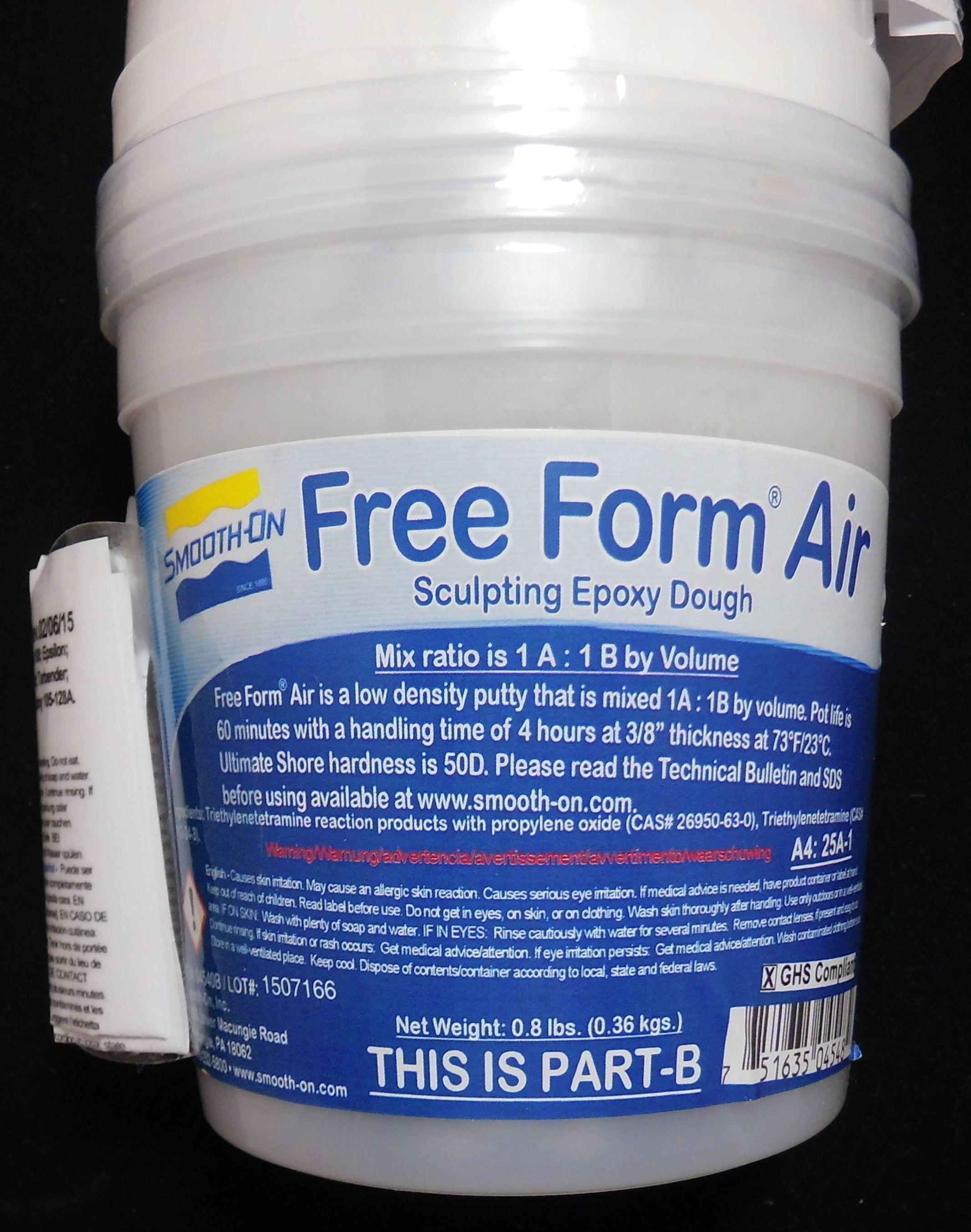 Free Form Air Formenmasse