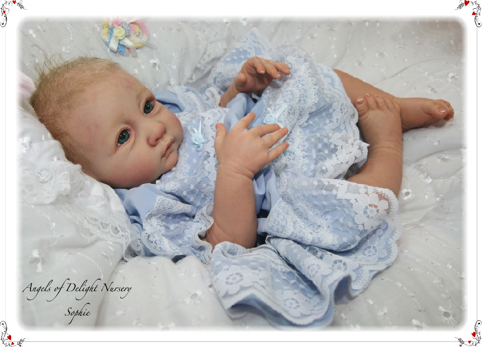 Rebornbaby​-Starterrset with <br/>Sophie by Linde Scherer, <br/>Light-Skin Vinyl